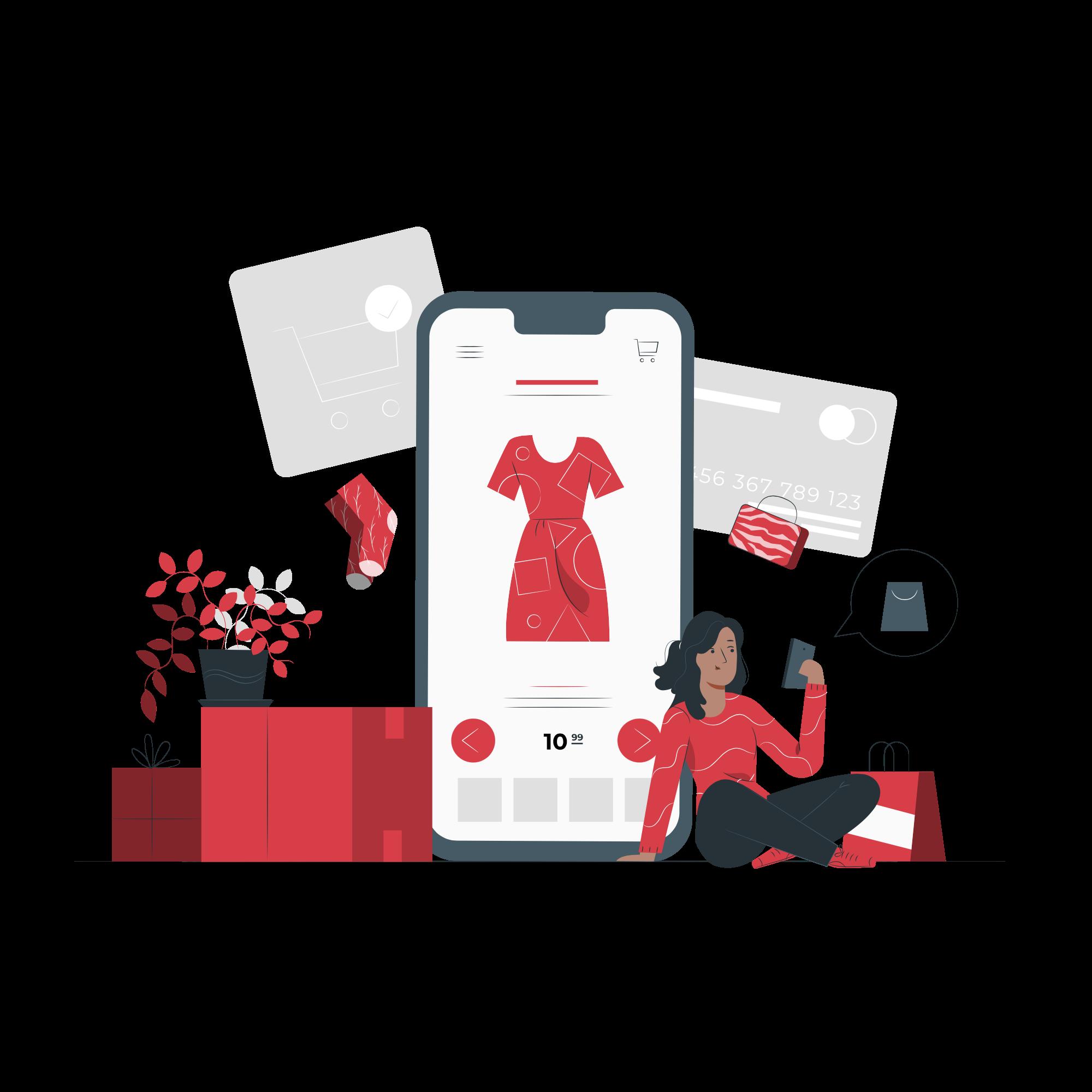 Online shopping-pana